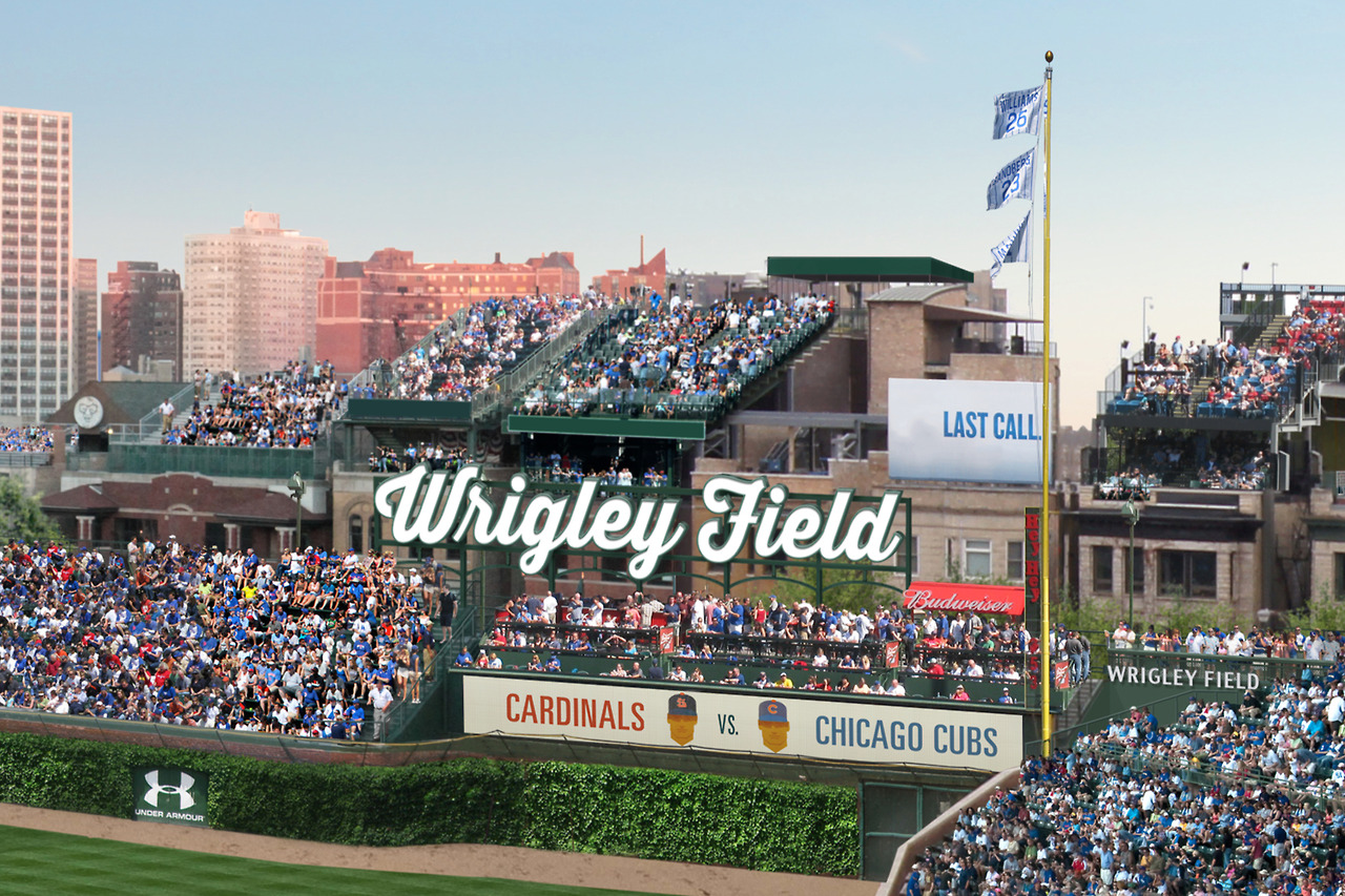 Chicago A Day In The Life Of A Convention Attendee  Out Of Home - Chicago map showing wrigley field