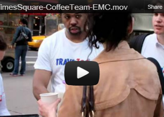 Travelzoo - video from our coffee team in Times Square