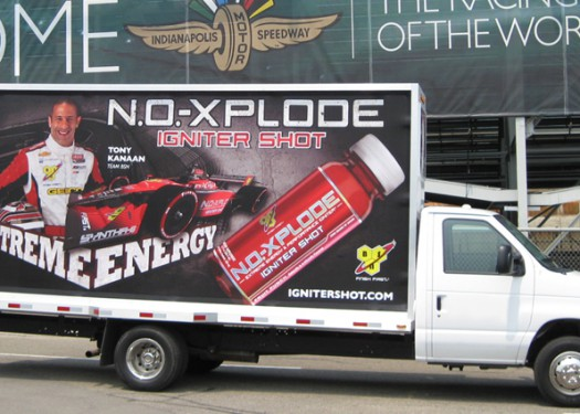 Indy 500: Reaching event attendees with mobile advertising