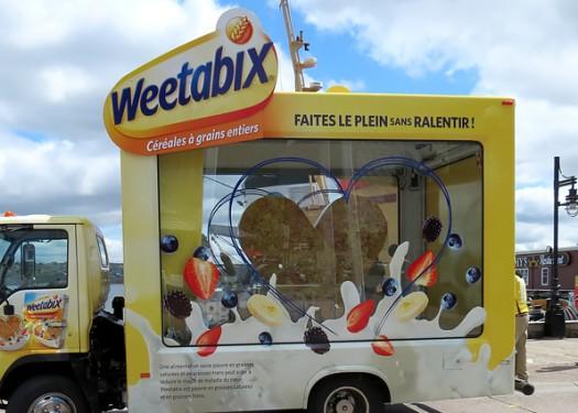 Weetabix cereal makes a big splash with a 61% sales increase!
