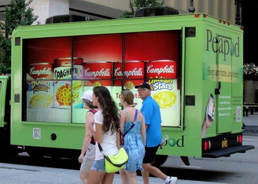 Peapod: Taking interactive out of home video on tour
