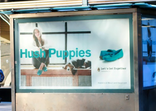 Hush Puppies: Contextually relevant out of home for sore feet