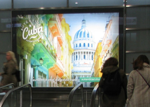Cuba Auténtica: Reaching European travelers with out of home