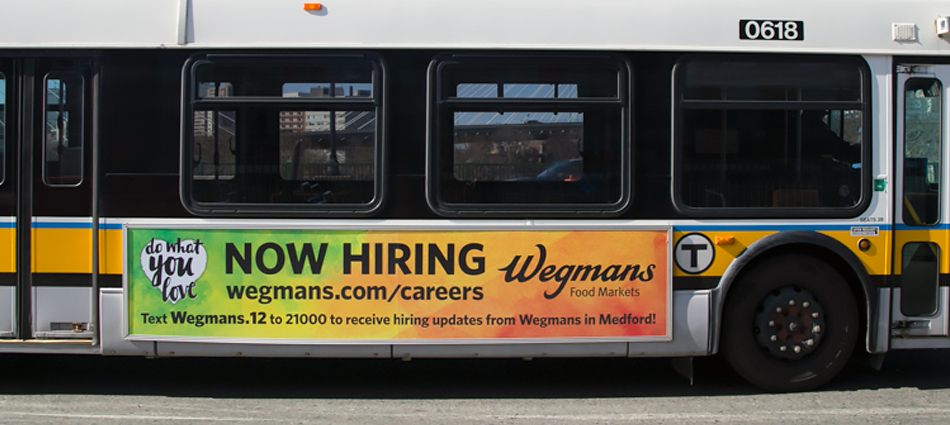 Wegmans: Do what you love, love what you do!