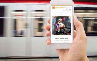 Study shows 74% of website traffic driven  by OOH campaign came from mobile!