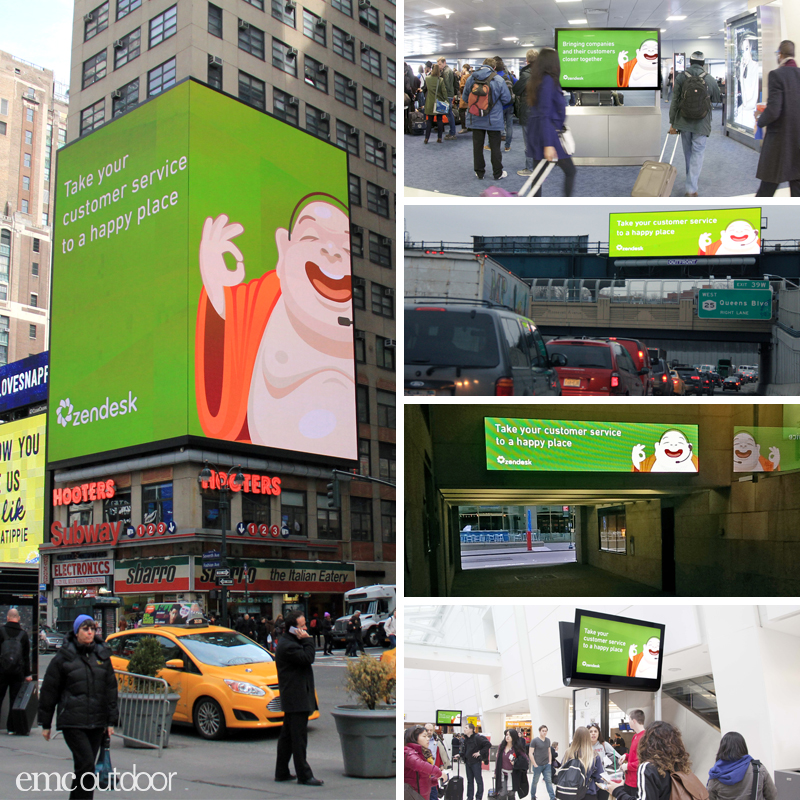 This digital campaign for ZenDesk was planned and activated in just 5 days.