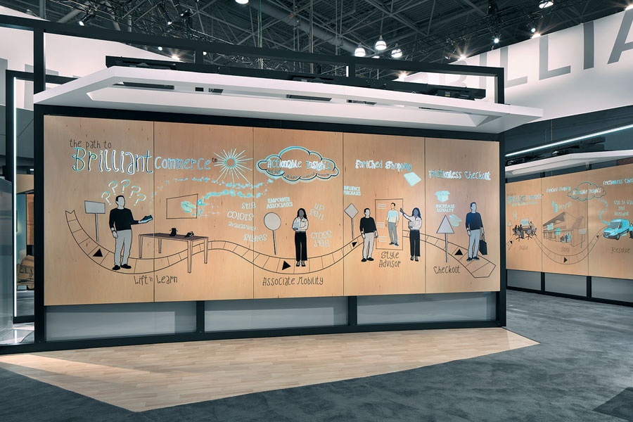 Exhibit-Booth-Conductive-Ink-Walls