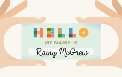 Meet Rainy McGrew, EMC's Experiential Extraordinaire