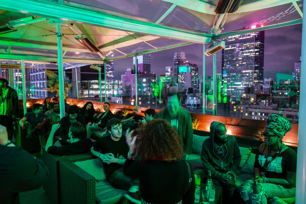 EMC Outdoor - Webtoon Comic Con rooftop party