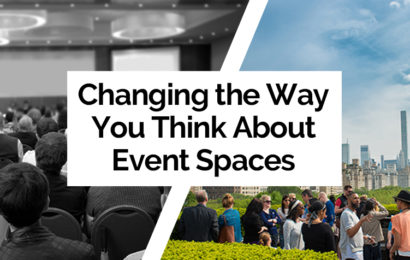 Changing the Way You Think About Event Spaces