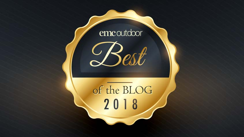 EMC Outdoor blog - Best of the Blog 2018