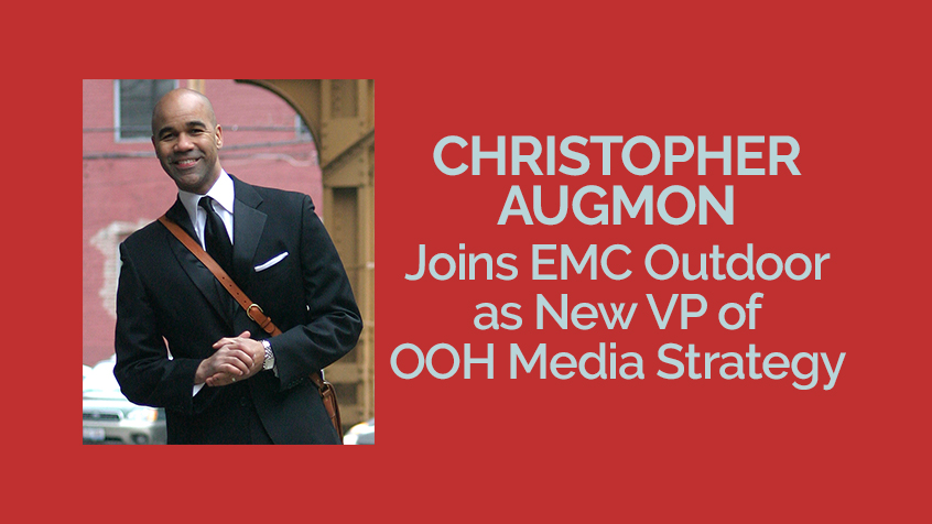 Christopher Augmon Joins EMC Outdoor as New VP of OOH Media Strategy [Press Release]