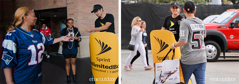 EMC Outdoor Blog - Sprint Super Bowl