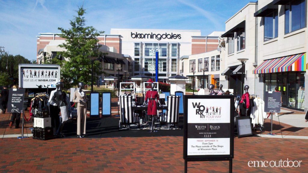 EMC Outdoor Blog - White House Black Market Pop-up