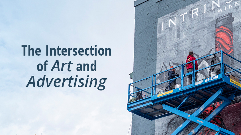 The Intersection of Art and Advertising