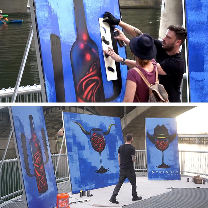 Intrinsic-Wine-SXSW-Painted-Murals