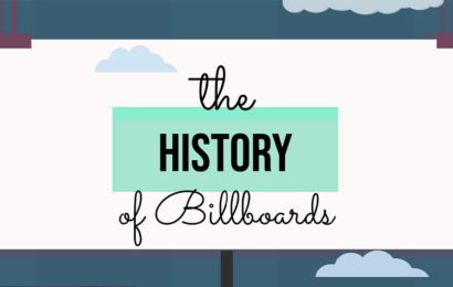 The History of Billboards [Infographic]