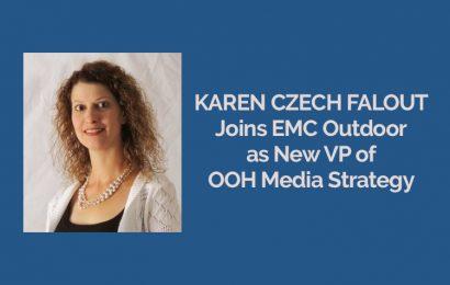 Karen Czech Falout Joins EMC Outdoor as New VP of OOH Media Strategy [Press Release]