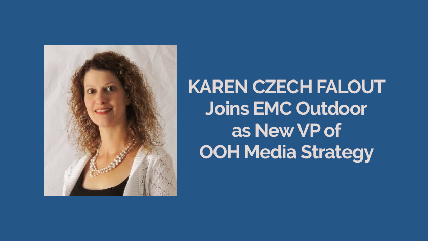 Karen Czech Falout Joins EMC Outdoor as New VP of OOH Media Strategy [Press Release]