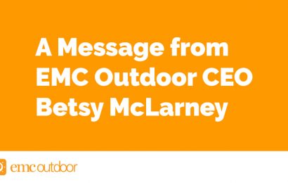A Message from EMC Outdoor CEO, Betsy McLarney