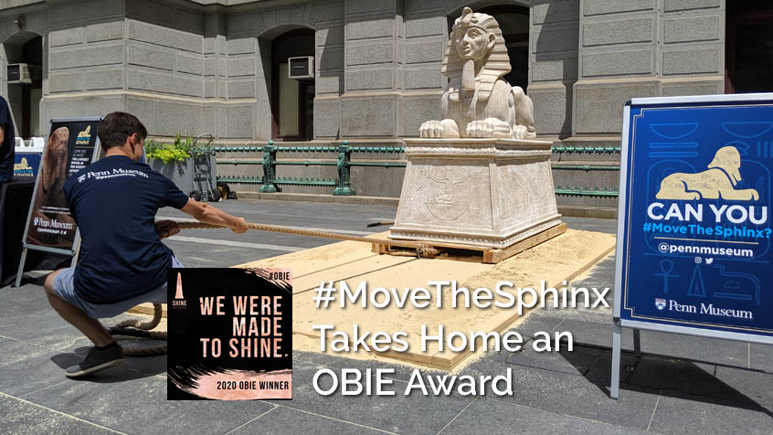 #MoveTheSphinx Earns Experiential OBIE Award