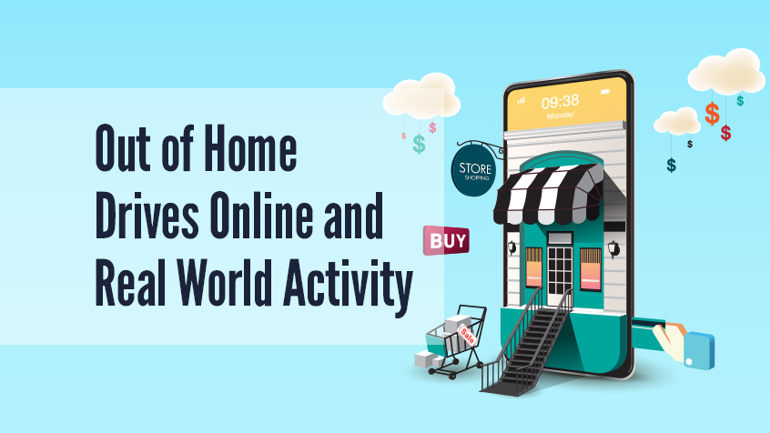 Out of Home Media Drives Consumer Activity in the Real World and Online