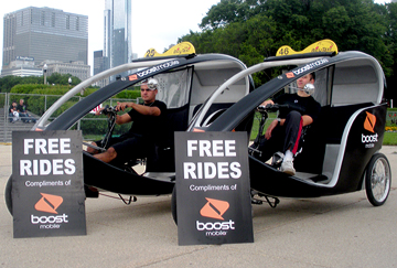 Boost Mobile eats up Chicago!