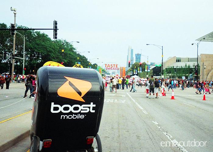 bike mobile advertising