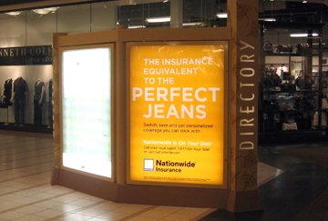 Nationwide Insurance: EMC takes them shopping with 9,000,000 consumers every month!