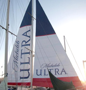Michelob gets bonus TV time at the US Open with creative OOH media.
