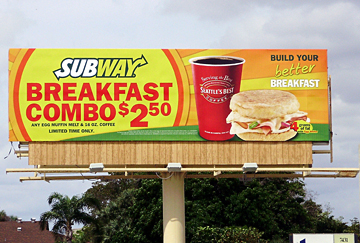 Subway still has a strong appetite for out of home!