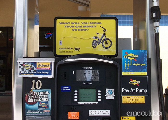 Best Buy Uses Gas Station Ads For Pinpoint Targeting