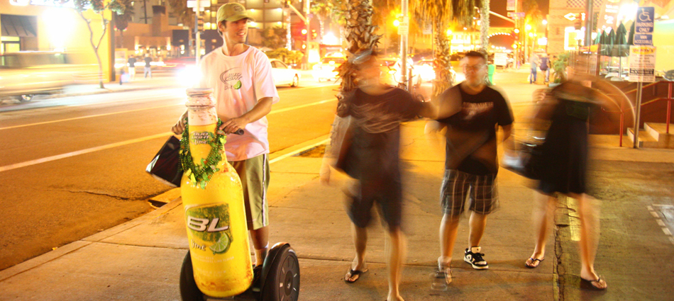 Bud Light Lime brings a new flavor of out of home to San Diego.