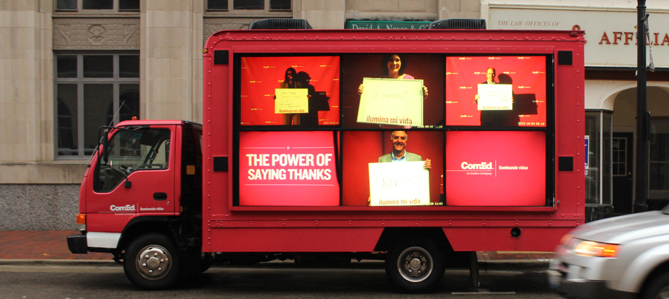 "ComEd: Helping the community say ""Thanks"""
