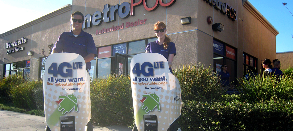 MetroPCS: Using mobile out of home media to create an event