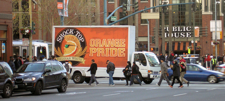 Anheuser-Busch: Reaching baseball fans with mobile outdoor advertising