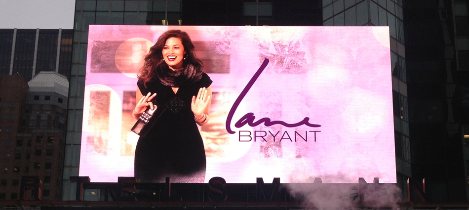 Lane Bryant: Using digital out of home to make an entrance