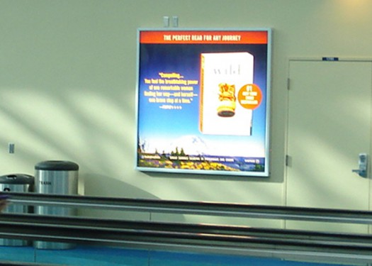 Random House: Reaching travelers with airport advertising