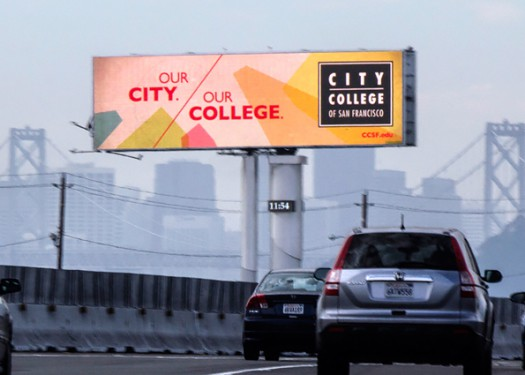 City College of San Francisco: OOH helps boost enrollment 34%