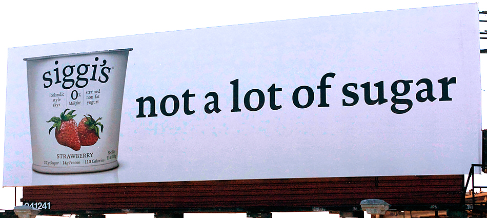 Siggi's Dairy: Viking yogurt invades U.S. with outdoor advertising