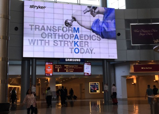 Stryker: Making the most of Trade Show Marketing with Out of Home