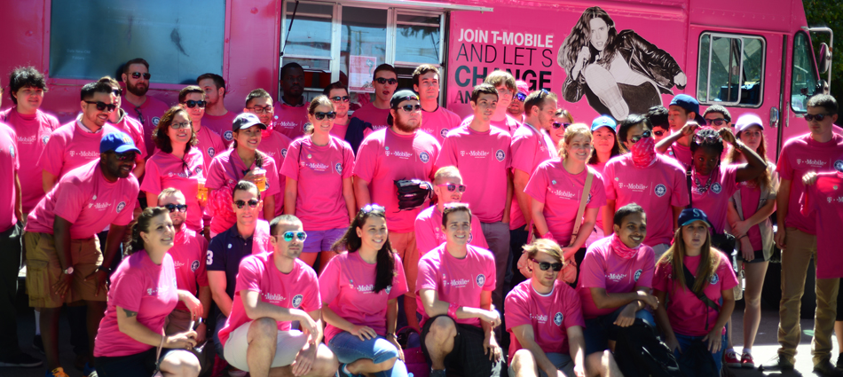 T-Mobile: Experiential Marketing Can #BeMagenta