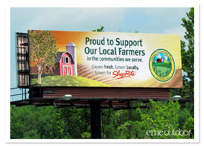 Billboard Advertising for Grocery Stores