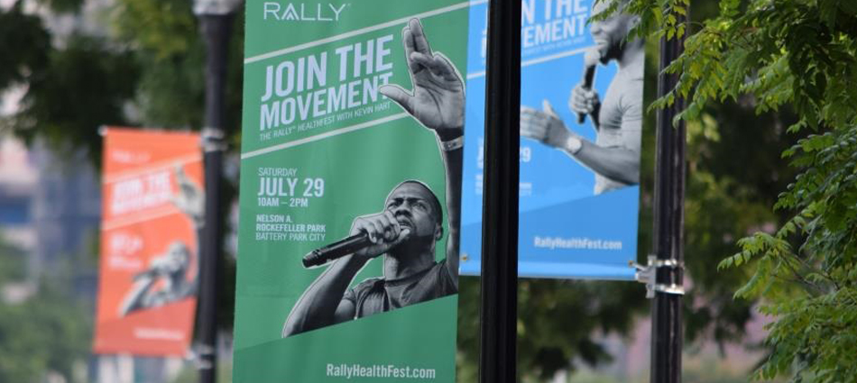Rally Health and Kevin Hart use Out of Home to drive Event Attendance in NYC