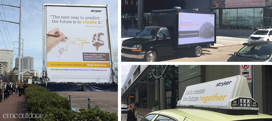 Stryker: Reaching Trade Show Attendees in New Orleans
