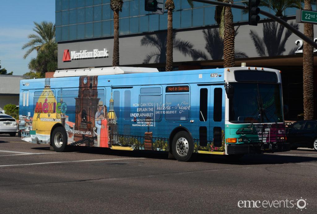 Mexico Tourism-BusWrap-AZ