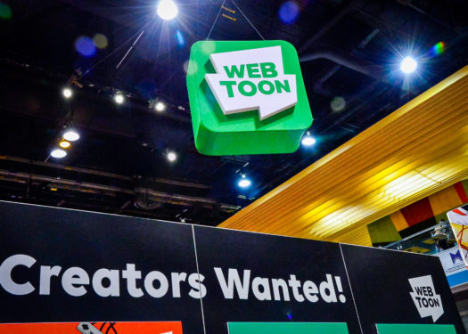 Webtoon: Comic-Con Exhibit Reaches 'Creators' Where They Are