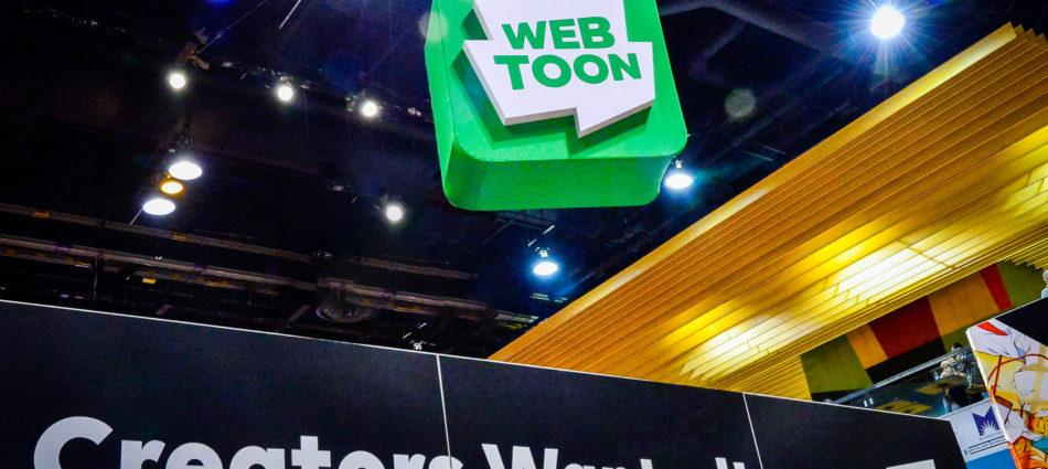Webtoon: Comic-Con Exhibit Reaches 'Creators' Where They Are