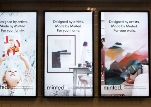 Minted: A DTC Finds Success in Data-Driven Out of Home