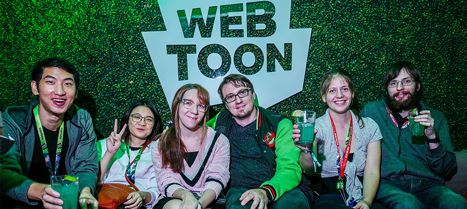 Webtoon: Comic Con After Party Attracts Top Talent